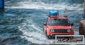 Jeep Renegade Takes Part In Rafting 2