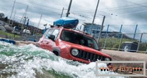 Jeep Renegade took part in the