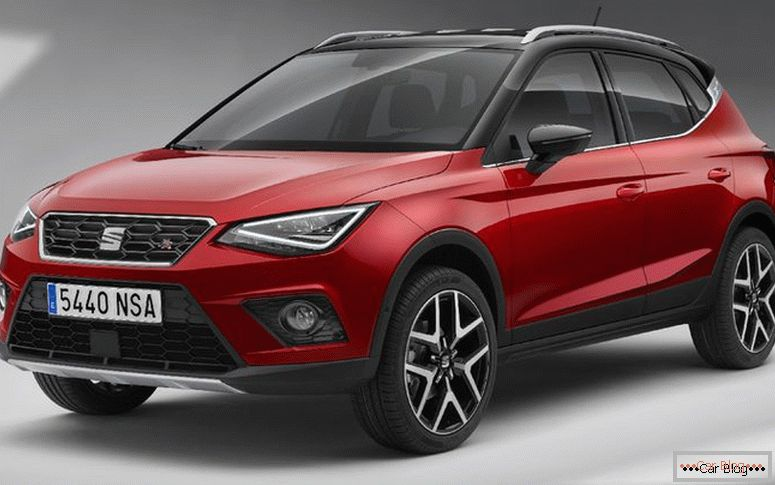 Spanish car brand Seat, now part of VW, introduced the new SUV Arona