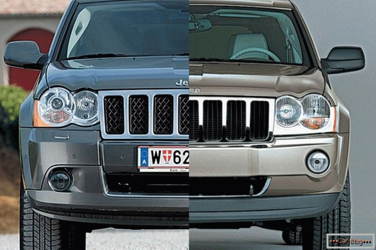 Photo restyling Jeep Grand Cherokee 2008