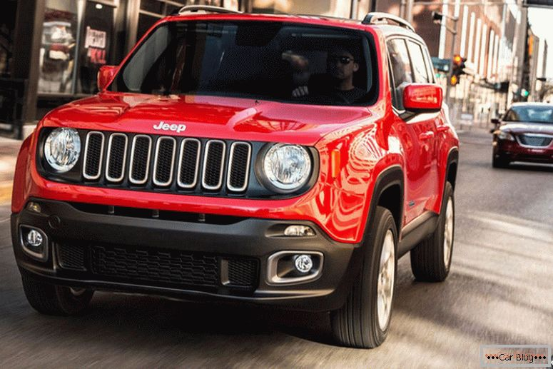 Jeep Renegade new model