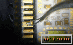 how to do the repair of the ABS unit in a foreign car