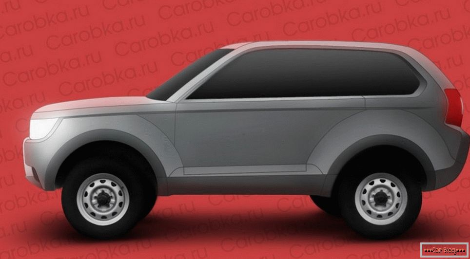 What will be the new lada 4 × 4?