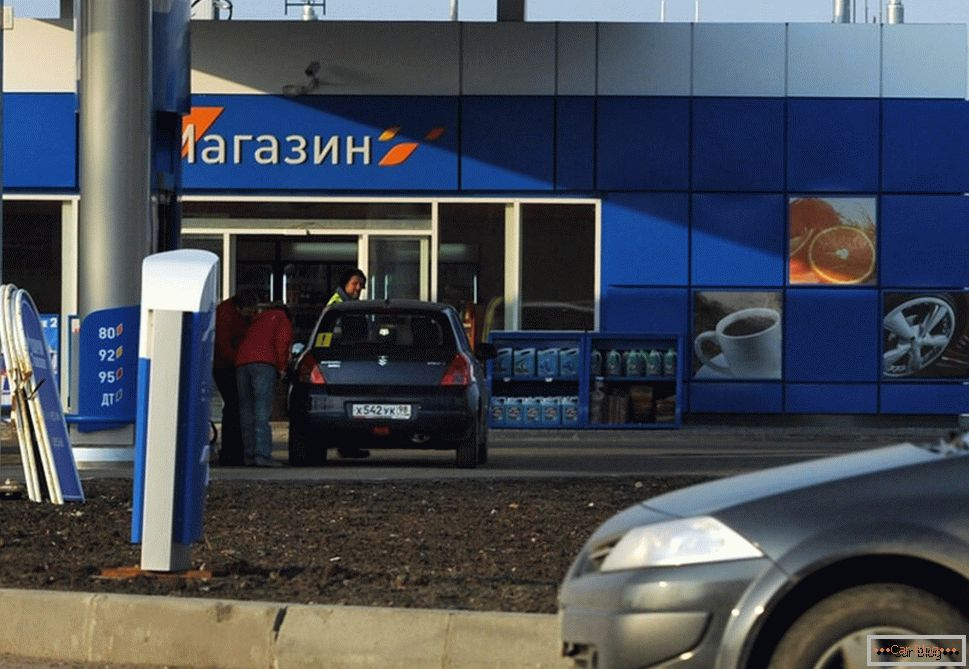 Lukoil or gazprom - a comparison of popular gas stations