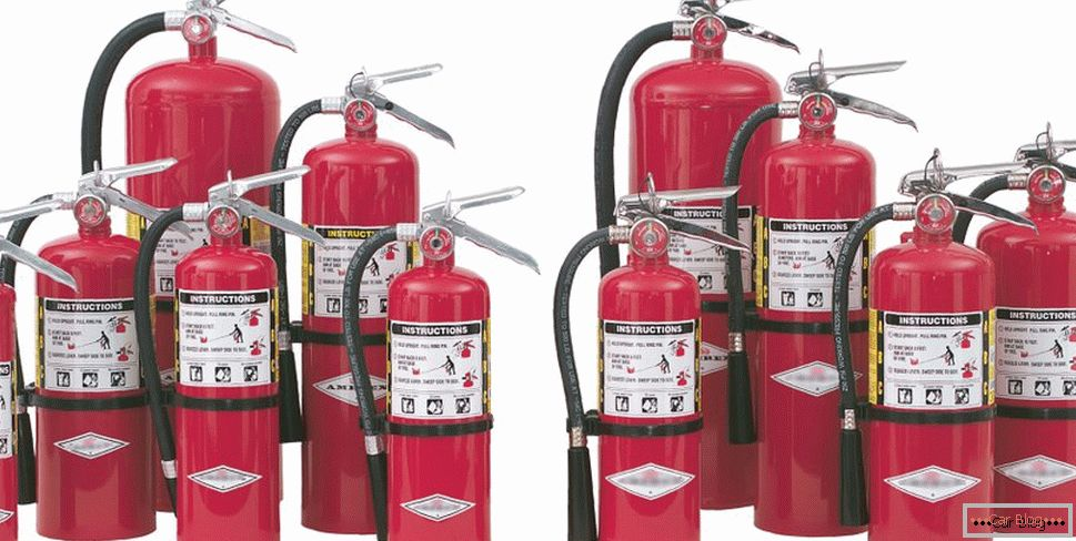 freon extinguishers for cars