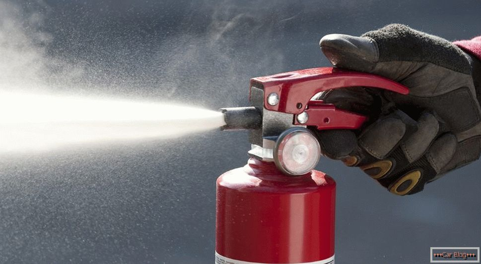 powder fire extinguishers for cars