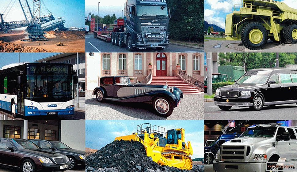 The biggest cars in the world