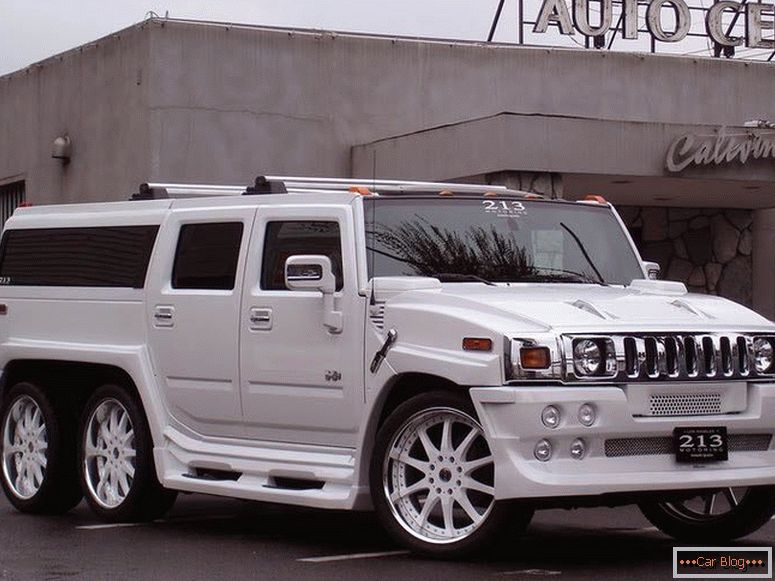 Hummer H2 The Ultimate Six
