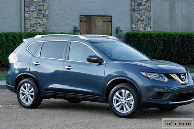 Nissan X-Trail is a car with a male character