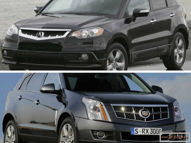 Comparing Acura RDX and Cadilac SRX