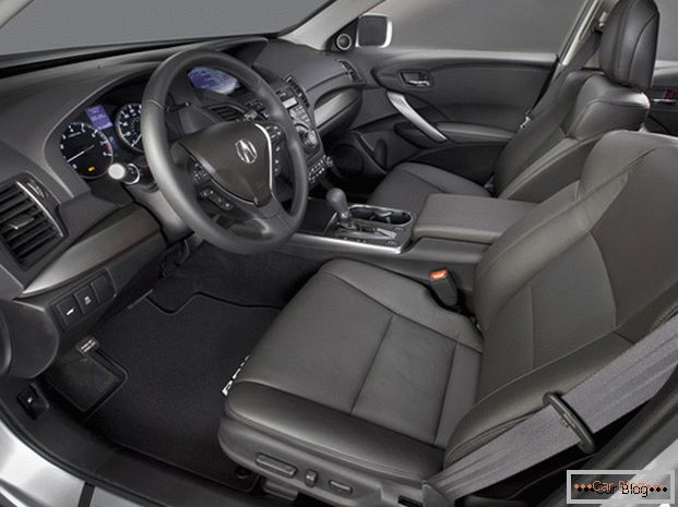 Acura RDX car interior