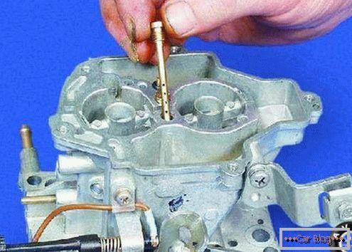 Tuning carburetor solex 21083 to improve technical