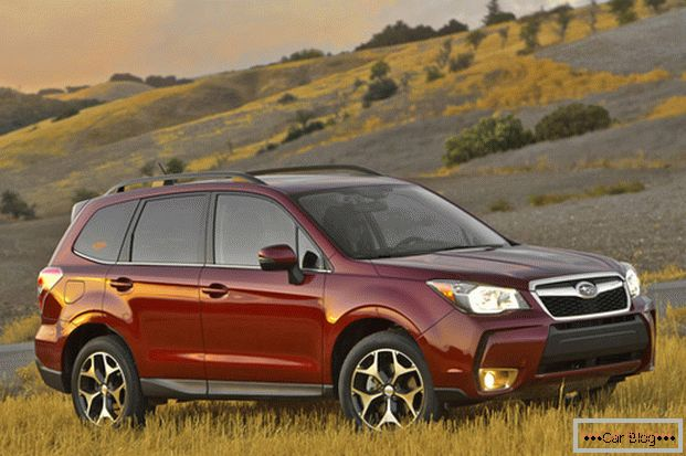 The appearance of the car Subaru Forester